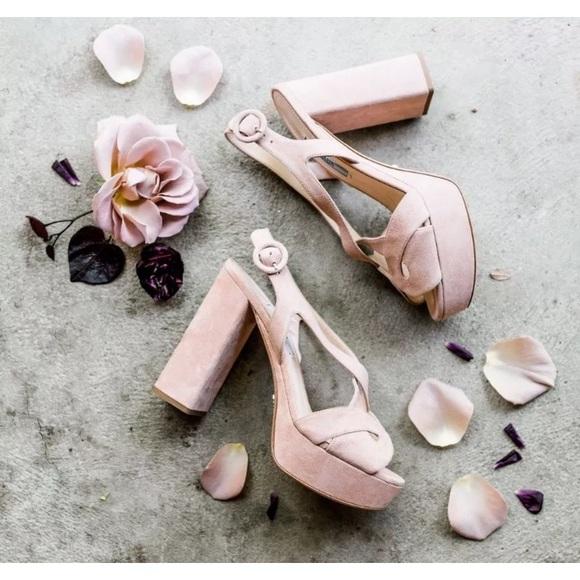 Prada Shoes Prada Blush Pink Nude Heels Wedding Shoes 65 Poshmark